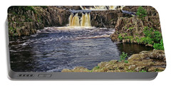 Low Force Waterfall, Teesdale, North Pennines Portable Battery Charger