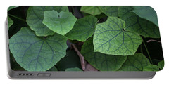 Portable Battery Charger featuring the photograph Low Key Green Vines by Jingjits Photography