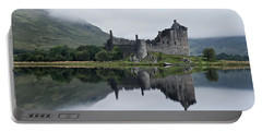 Low Mist At Kilchurn Portable Battery Charger