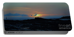 Portable Battery Charger featuring the photograph Low Profile Sunset by Craig Wood