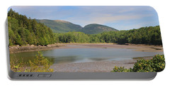 Low Tide 2 In Acadia Portable Battery Charger by Living Color Photography Lorraine Lynch