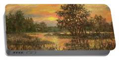 Lowcountry Sky Portable Battery Charger by Kathleen McDermott