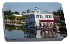 Portable Battery Charger featuring the photograph Lowell Show Boat by Robert Pearson