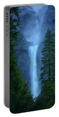 Lower And Middle Yosemite Falls Portable Battery Charger