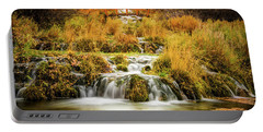 Lower Cascades At Cascade Springs Portable Battery Charger