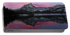 Lower Cathedral Lake Sunset Portable Battery Charger