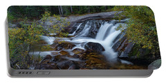 Lower Copeland Falls Portable Battery Charger by Gary Lengyel