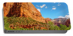 Portable Battery Charger featuring the photograph Lower Emerald Pool Trail - Zion National Park by Penny Lisowski
