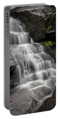Lower Falls Cascade At Triple Falls Portable Battery Charger