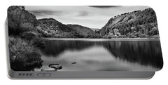 Portable Battery Charger featuring the photograph Lower Lake At Glendalough, County Wicklow - Ireland by Barry O Carroll