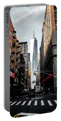 Lower Manhattan One Wtc Portable Battery Charger