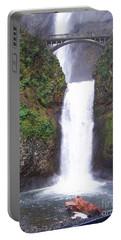 Lower Multnomah Falls Portable Battery Charger
