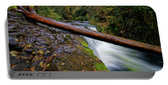 Portable Battery Charger featuring the photograph Lower Punch Bowl Falls by Jonathan Davison