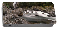 Portable Battery Charger featuring the photograph Lower Twin Falls by Jeff Swan