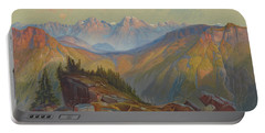Lower Yellowstone Range, Yellowstone National Park 1876 Portable Battery Charger