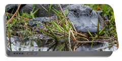 Loxahatchee Alligator-0639 Portable Battery Charger