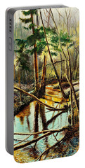 Lubianka-1- River Portable Battery Charger by Henryk Gorecki