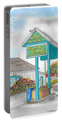 Lucia Lodge In Lucia, California Portable Battery Charger by Carlos G Groppa