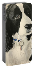 Lucille, English Springer Spaniel Portable Battery Charger