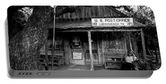Portable Battery Charger featuring the photograph Luckenbach Texas by David Morefield