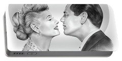 Lucy And Desi Portable Battery Charger