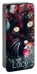 Lucy The Cat Portable Battery Charger