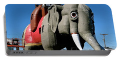 Lucy The Elephant Portable Battery Charger by Ira Shander