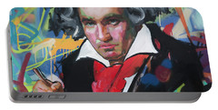 Ludwig Van Beethoven Portable Battery Charger