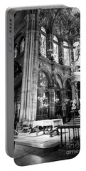 Lugo Cathedral Altar Bw Portable Battery Charger