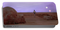 Luke Skywalker Tatooine Sunset Portable Battery Charger
