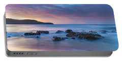 Luminescent Sunrise Seascape Portable Battery Charger