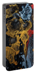 Luminous Nights 4. Abstract Fluid Acrylic Painting Portable Battery Charger