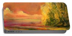 Luminous Sunset 2-16-06 Julianne Felton Portable Battery Charger