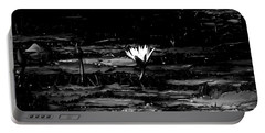 Luminous Water Lily  Portable Battery Charger