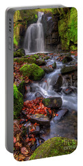 Portable Battery Charger featuring the photograph Lumsdale Falls 4.0 by Yhun Suarez
