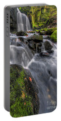 Portable Battery Charger featuring the photograph Lumsdale Falls 5.0 by Yhun Suarez