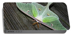 Luna Moth Portable Battery Charger