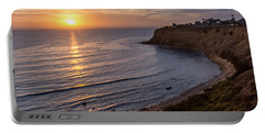 Lunada Bay Sunset Portable Battery Charger