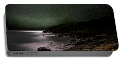 Lunar Eclipse Over Great Head Portable Battery Charger