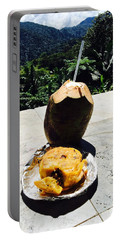 Lunch At El Yunque Portable Battery Charger by The Art of Alice Terrill