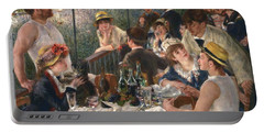 Luncheon Of The Boating Party By Renoir Portable Battery Charger