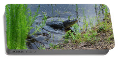 Lunging Bull Gator Portable Battery Charger