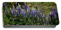 Lupine In Montana 2 Portable Battery Charger