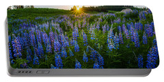 Lupine Meadow Portable Battery Charger