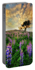 Lupine On Lupine Portable Battery Charger