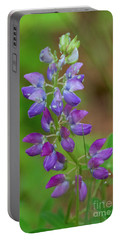 Portable Battery Charger featuring the photograph Lupine by Sean Griffin
