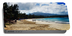 Luquillo Beach, Puerto Rico Portable Battery Charger by The Art of Alice Terrill