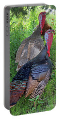 Lurking Turkeys Portable Battery Charger
