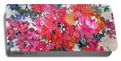Luscious Bougainvillea Portable Battery Charger
