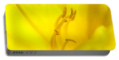 Luscious Yellow Portable Battery Charger